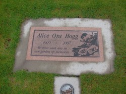 Alice Ora <i>Thompson</i> Hogg