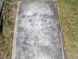 Carrie Amelia <i>Binion</i> Berry