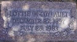 Lottie Ethel <i>McCoy</i> Ault