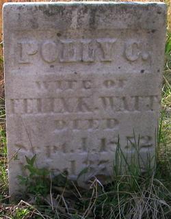 Mary C Polly <i>Hagler</i> Watt