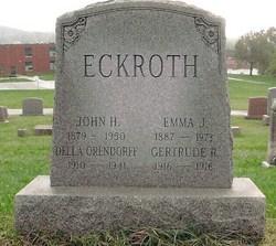 Emma Jane <i>Kohr</i> Eckroth