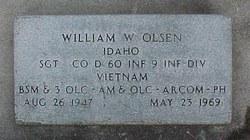 Sgt William Whitby Olsen