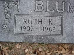 Ruth Della <i>Keillor</i> Blumer