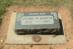 Velma W. <i>Thompson</i> Martin