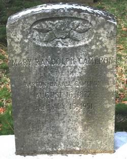 Mary <i>Randolph</i> Cameron