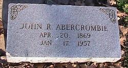 John R Abercrombie