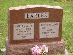 Esther Amelia <i>Ropp</i> Earles