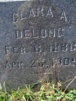 Clarissa A Clara <i>Thompson</i> Delong