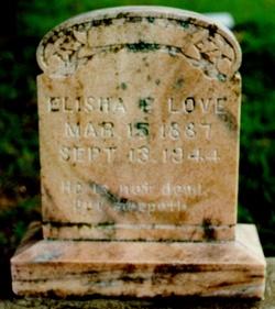 Elisha Edward Taylor Love