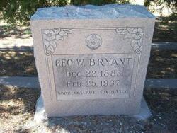 Geo W Bryant