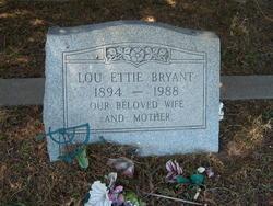 Lou Ettie Bryant