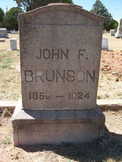 John F Brunson