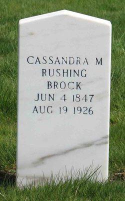 Cassandra Melissa <i>Rushing</i> Brock