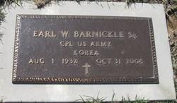 Earl Wayne Barnickle, Sr