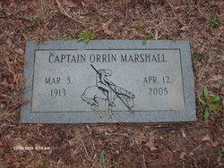 Capt Orrin Marshall, Sr