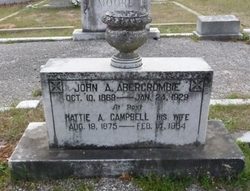 Hattie A <i>Campbell</i> Abercrombie