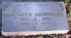 Margaret F Abercrombie