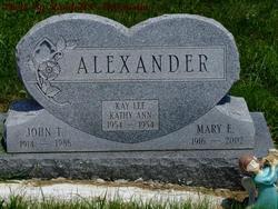 Mary E <i>Fleece</i> Alexander