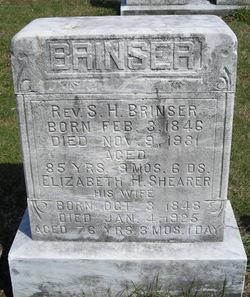 Elizabeth H. <i>Shearer</i> Brinser
