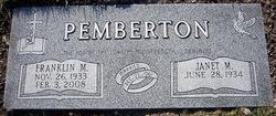 Franklin Mearl Pemberton