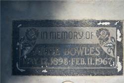 Artie Bowles