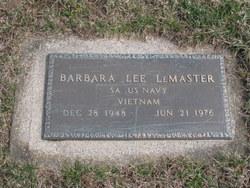 Barbara Lee <i>Jones</i> Lemaster