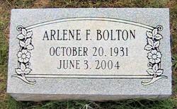 Arlene F Bolton