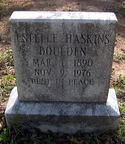 Estelle <i>Haskins</i> Boulden