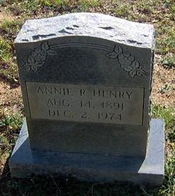 Annie R Henry