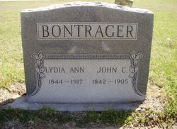 Lydia Ann <i>Wickwire</i> Bontrager