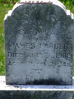 Sarah A Barber