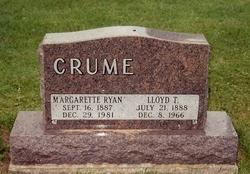 Margarette Pauline Madge <i>Ryan</i> Crume