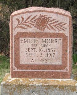 Emilie <i>Gieck</i> Morre