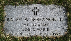 Ralph W Jr Bohanon
