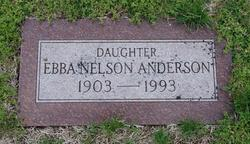 Ebba Anna Matilda <i>Nelson</i> Anderson