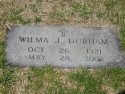 Wilma Ilene <i>Jackson</i> Durham