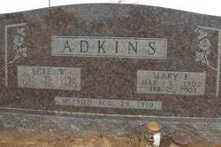 Acie W Adkins