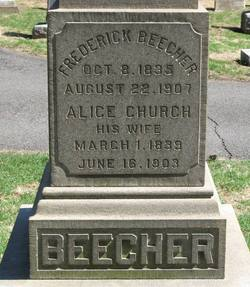 Alice <i>Church</i> Beecher