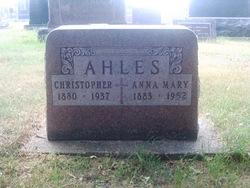 Anna Mary <i>Jungels</i> Ahles