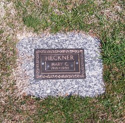 Mary Catherine Heckner