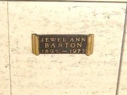 Jewell Ann Barton