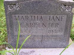 Martha Jane <i>Killen</i> Carpenter