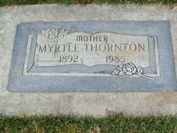 Myrtle Mary <i>Baker</i> Thornton