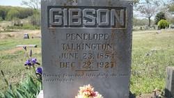 Penelope Pop. <i>Talkington</i> Gibson