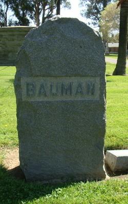 Jacob Henry Bauman