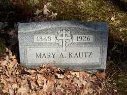 Mary A Kautz