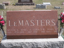 Gerald Walker LeMasters