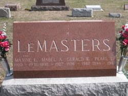 Mabel Agnes <i>Kantner</i> LeMasters