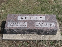 Hazel May <i>Wallace</i> Wehrly