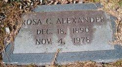 Rosa A <i>Cagle</i> Alexander